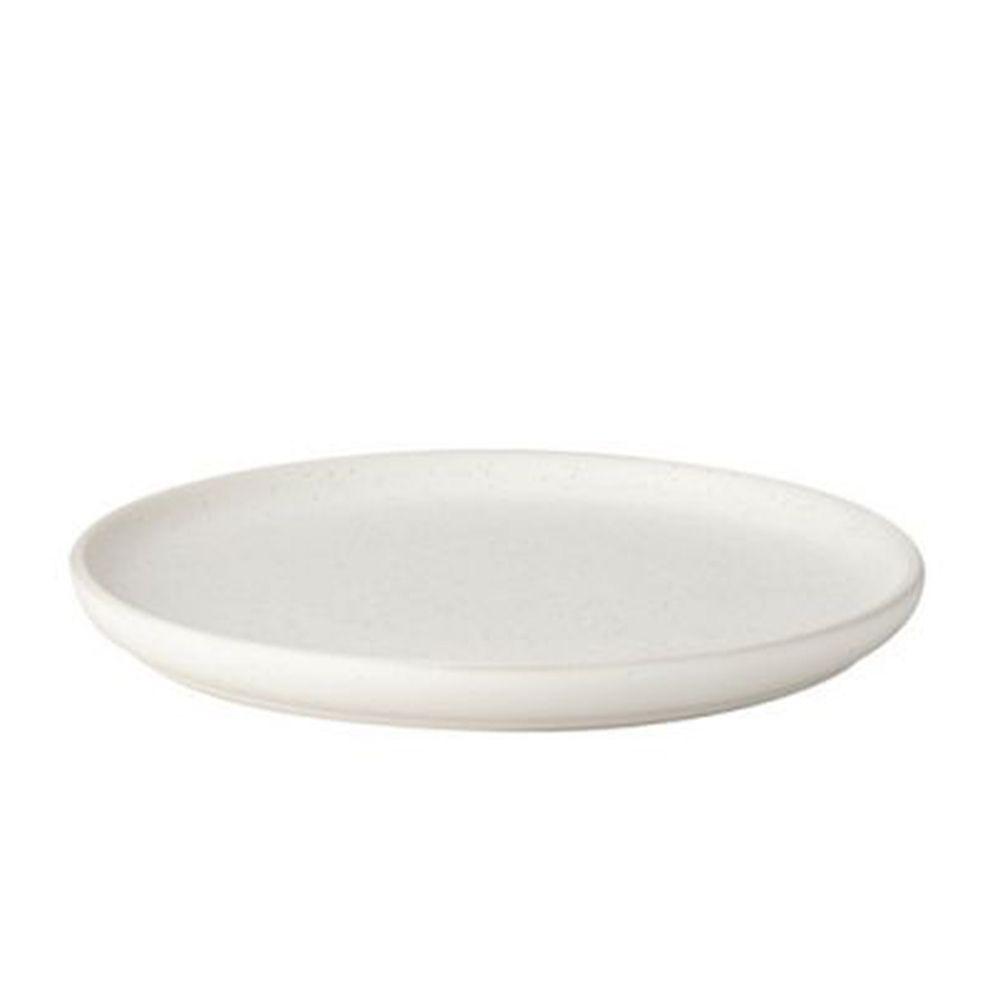 Teller - weiß gesprenkelt Ø 20 cm