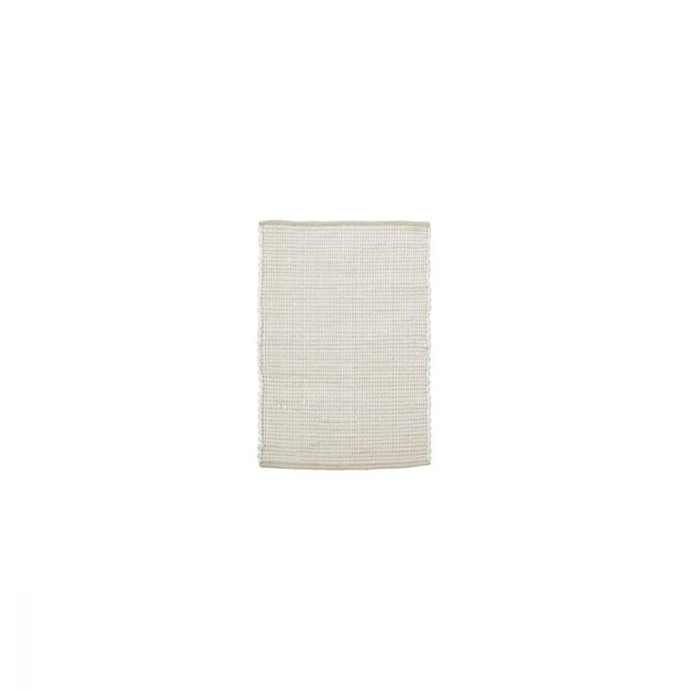 Teppich Chindi - weiß 90 x 60 cm