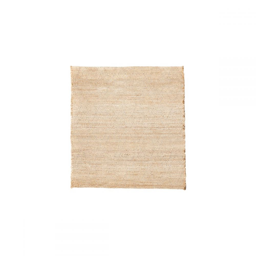 Teppich Mara - nude 180 x 180 cm