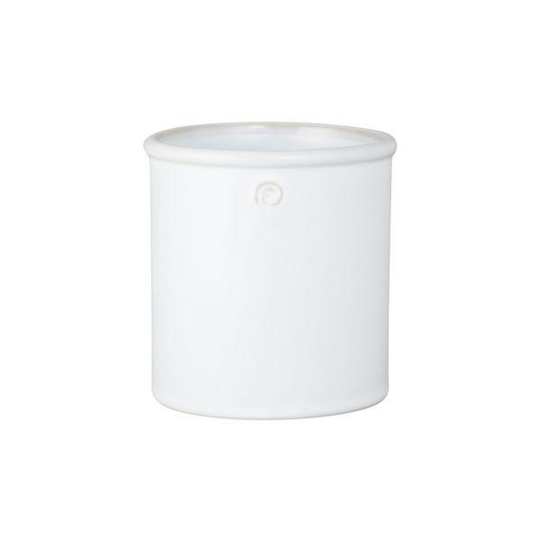 Übertopf - weiß 12 cm