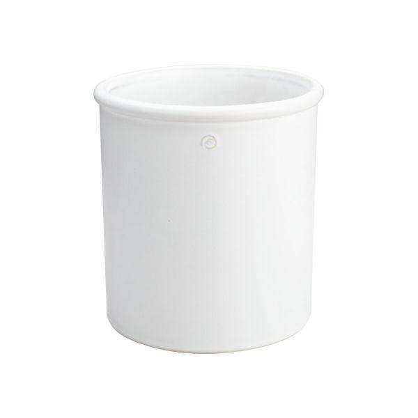 Übertopf - weiß 20,5 cm