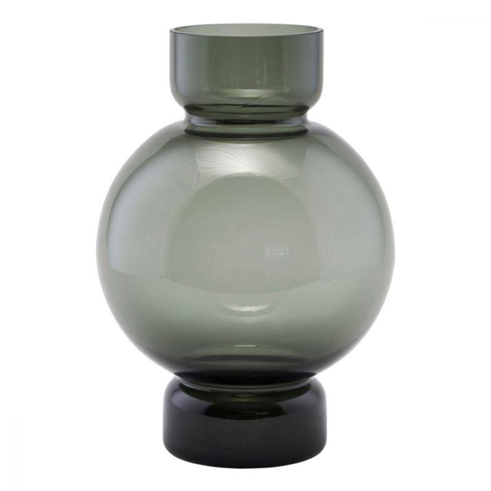 Vase Bubble - grau 25 cm