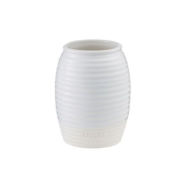 Vase aus Keramik - glänzend & matt 11 cm