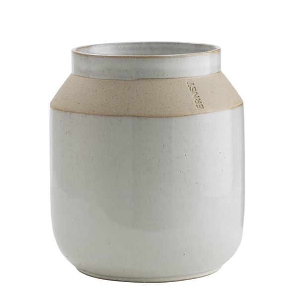 Vase aus Keramik - matt