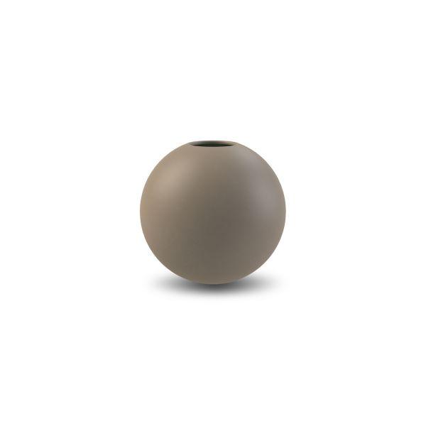 Vase aus Keramik - rund mud 10 cm
