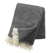 Wolldecke Knut - dark grey