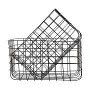 Korb Simply - schwarz 24 x 32 x 20 cm