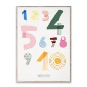 Poster - Spaghetti Numbers