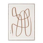 Poster - Different Ways - Brown - 50x70 cm