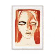 Poster - Red Portrait - 50x70 cm
