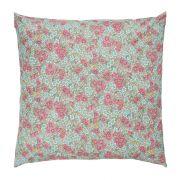 Kissenbezug - rosa/türkis 60 x 60 cm