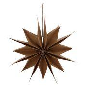 Papierstern Capella - natur Ø 30 cm