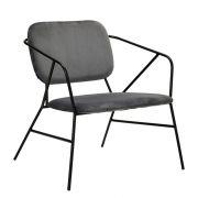 Lounge-Sessel Klever - grau