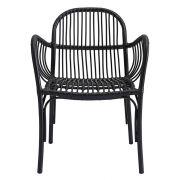 Lounge-Sessel Brea - schwarz