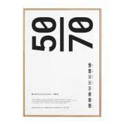 Bilderrahmen - Frame oak - 50x70 cm