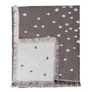 Decke Raining - clay 170 x 130 cm