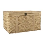 Koffer aus Bambus