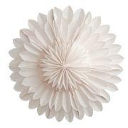 Leuchtstern Lotus - weiß 44 cm