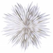 Leuchtstern Maja - weiß 60 cm