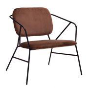 Lounge-Sessel Klever - braun