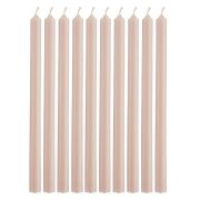 Pencil Kerzen extralang - rosa malve 10 Stk.