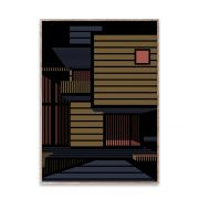 Poster - Empty Spaces 01 - Dark - 50x70 cm