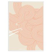 Poster Udon #1 - beige 50 x 70 cm