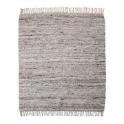 Teppich Hafi - grau/braun 180 x 180 cm