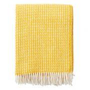Wolldecke - Line yellow